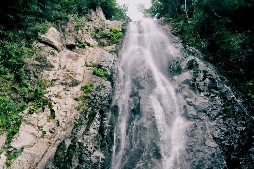 Cascada en Kumano.