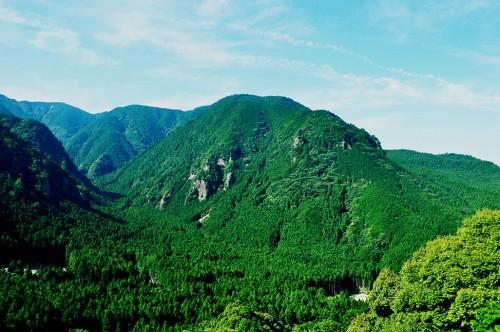 montañas de kumano