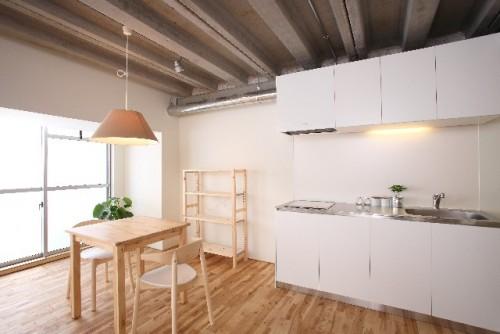 Casa compartida moderna para hospedarse gratis