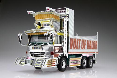 Modelo a escala de un camión dekotora