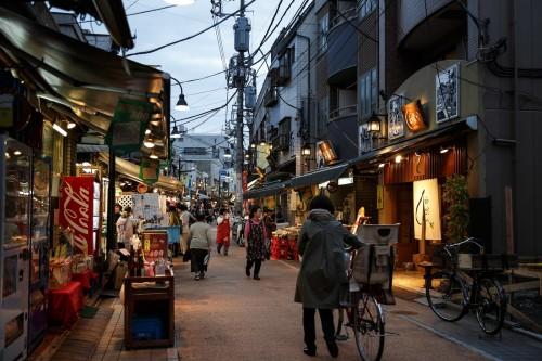 calles de tokio japón