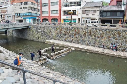 Río Nakashima en Nagasaki