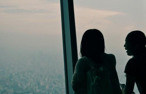 Mirador de la torre Tokyo Skytree de Tokio