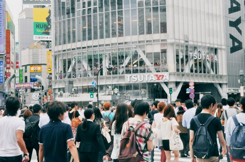 Barrio de Shibuya en Tokio