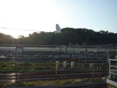 Vistas desde el Shonan Mnorraíl de Enoshima