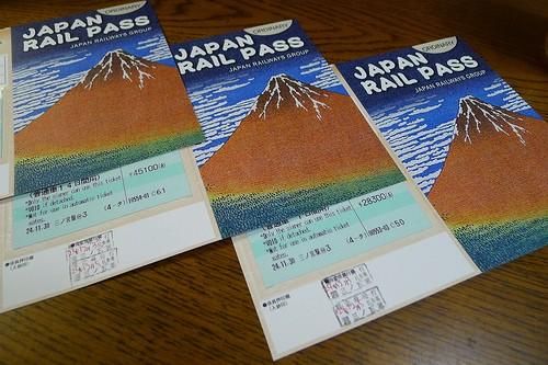 Billete de tren JR Pass