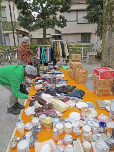 Mercado de segunda mano japonés.