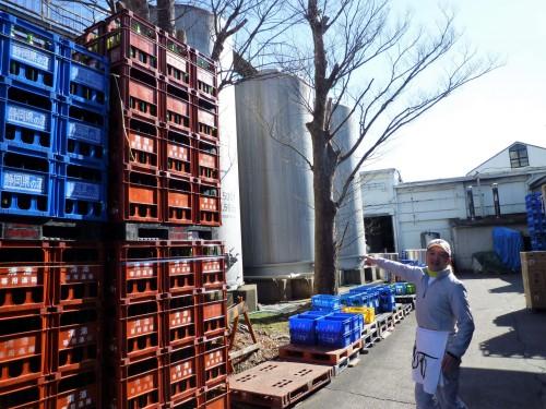Shuzo de la fábrica de sake Hananomai, en Shizuoka.