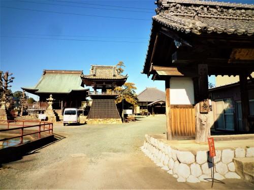 Monzencho, pequeño pueblo en Shizuoka, Japón.