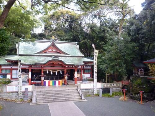 Templo en Atami, Shizuoka.