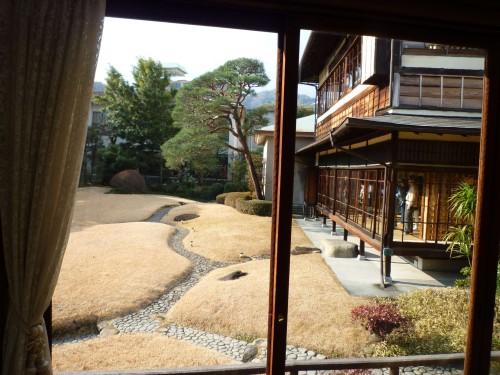 Jardín japonés del Museo Kiunkaku de Atami (Shizuoka).