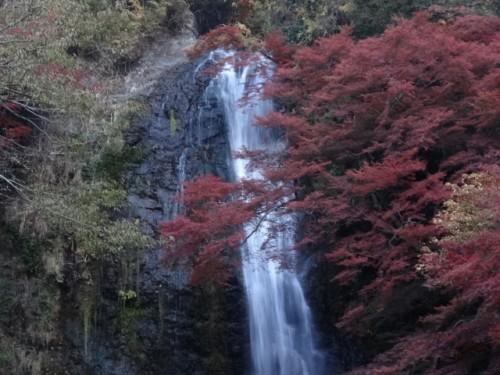 Catarata de Minoo, en Kansai (Japón).
