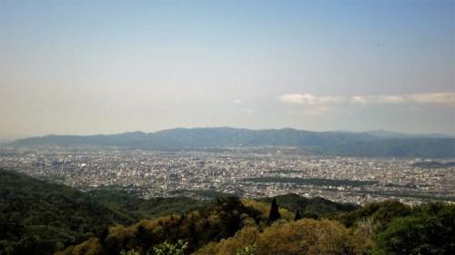 Paisaje desde la cima del monte Koyasan.
