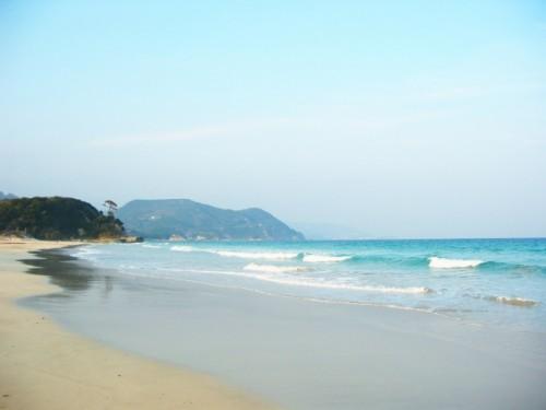 Playa de Shirahama, en Nishimuro (Wakayama).