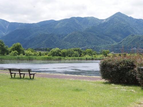 Lago Biwa, entre Kioto y Shiga.