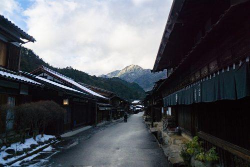 Pueblecito Edo de Tsumago, en Nagiso.