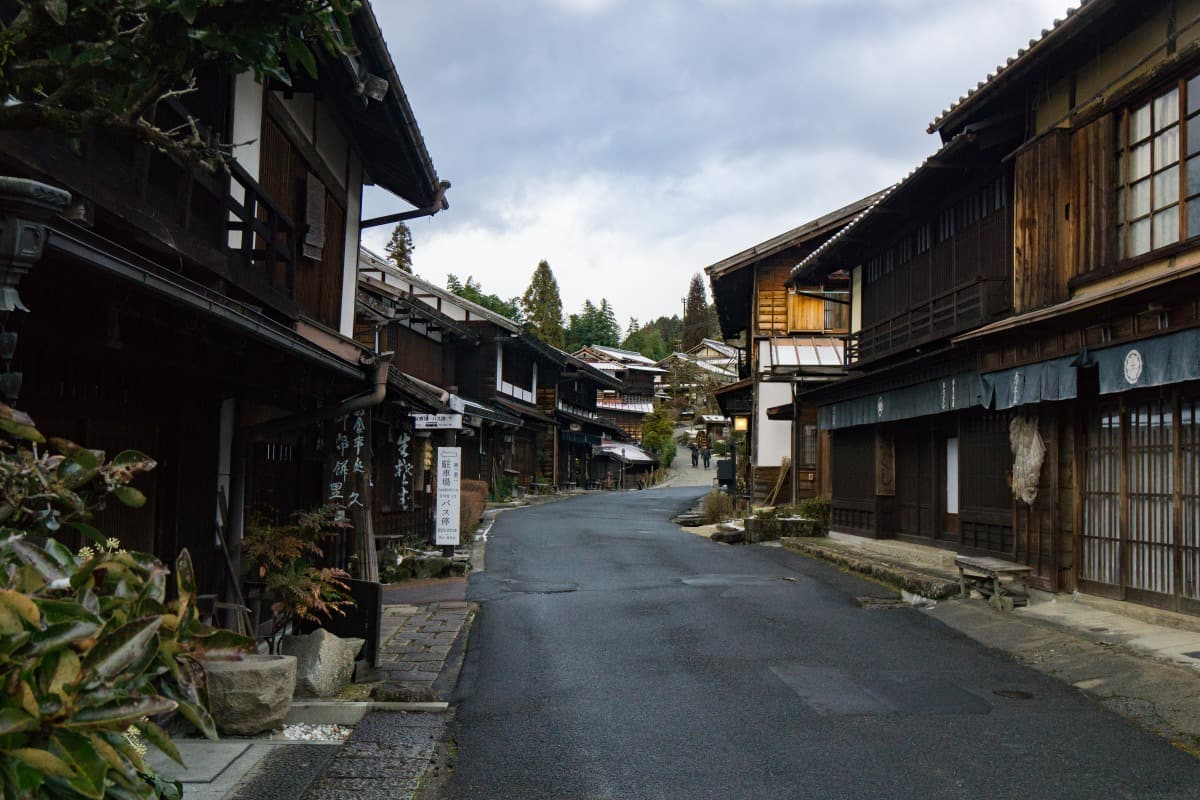 Vive la época Edo en el pueblecito de Tsumago, Nagiso