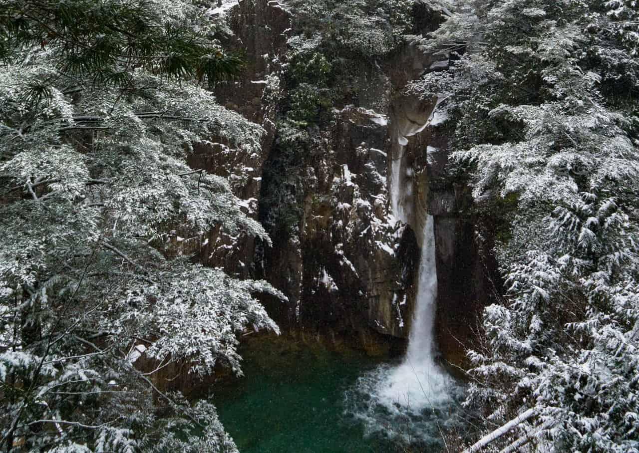 Tranquilidad máxima en el Cañón Kakizore de Nagiso