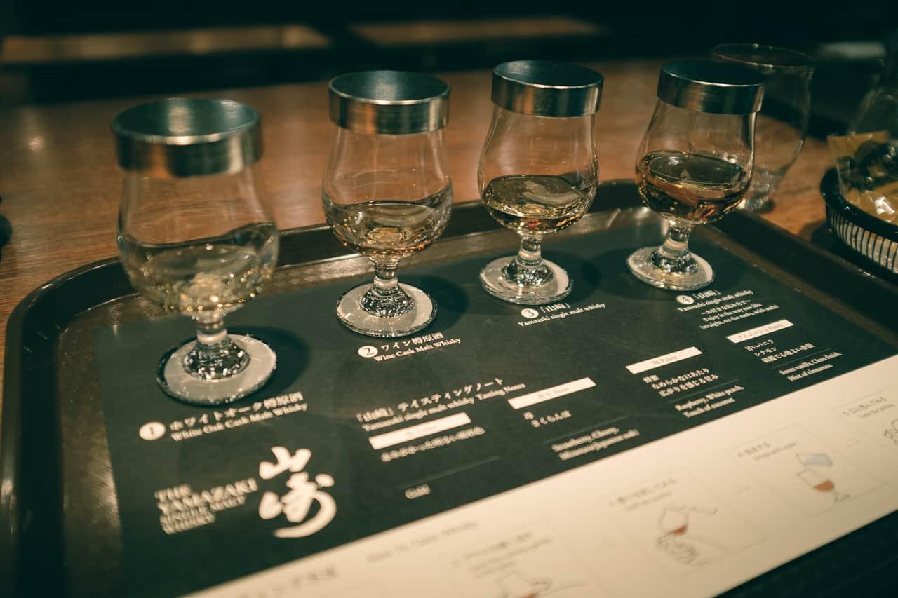 La degustación del whisky japonés
