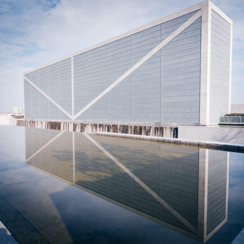 El Museo Sayamaike de Tadao Ando, Osaka, Japón.