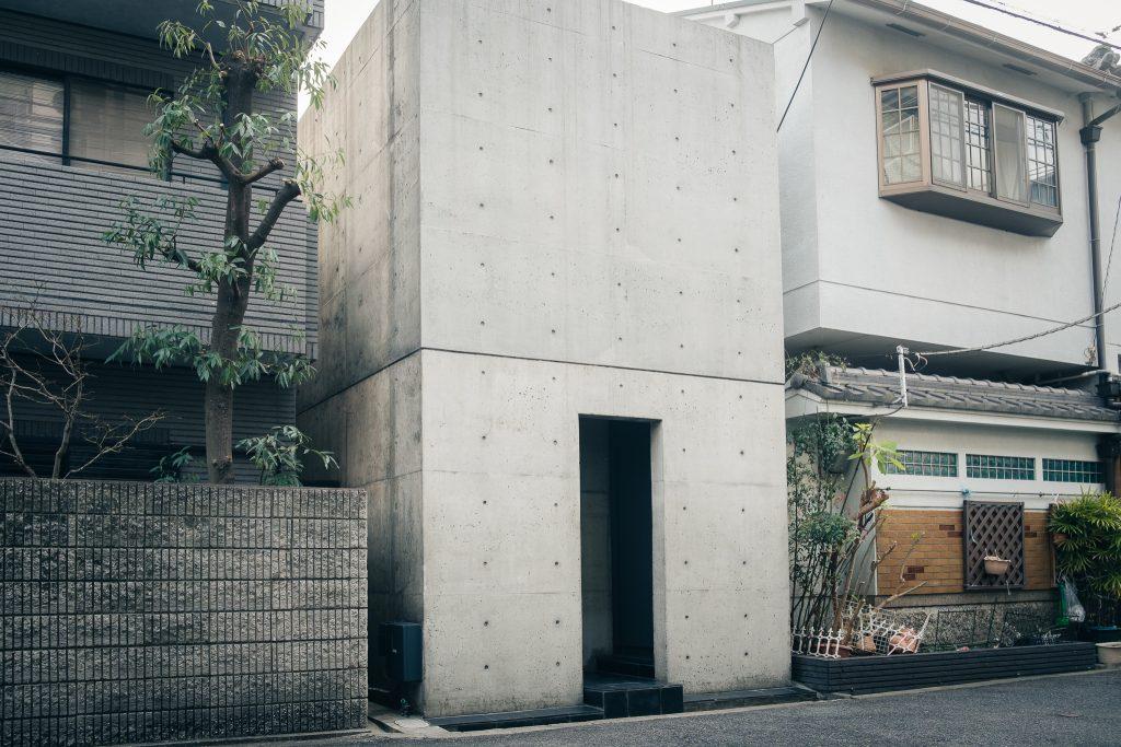 La primera casa del arquitecto Tadao Ando, Osaka, Japón.