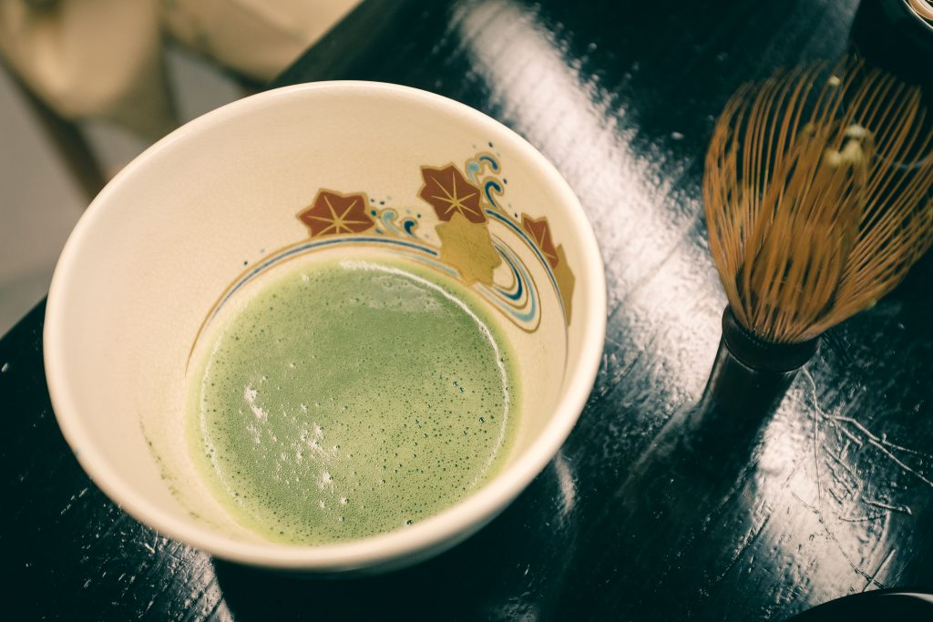 El resultado del té matcha en Sakai