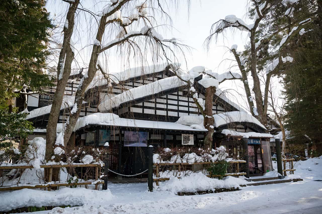 Una antigua casa samurai en la ciudad de Kakunodate