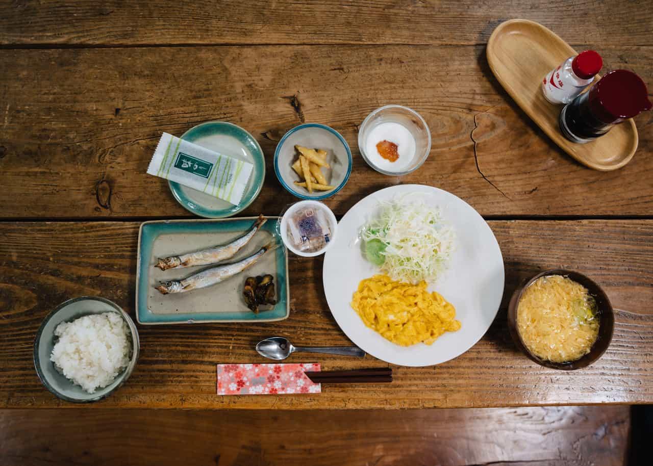 Desayuno en el hostel Yodel