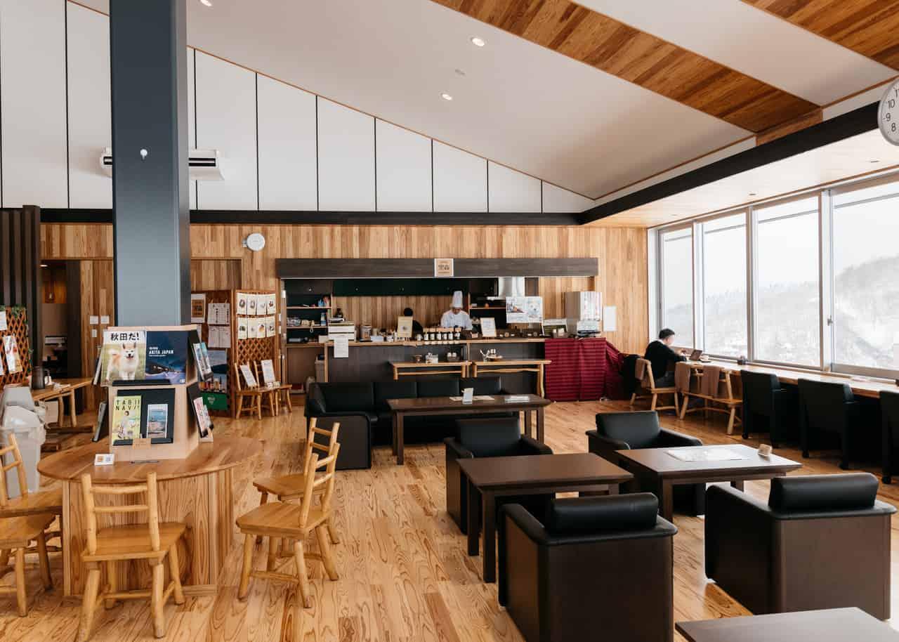 Lounge Kuromori, donde llenamos nuestros estómagos vacíos