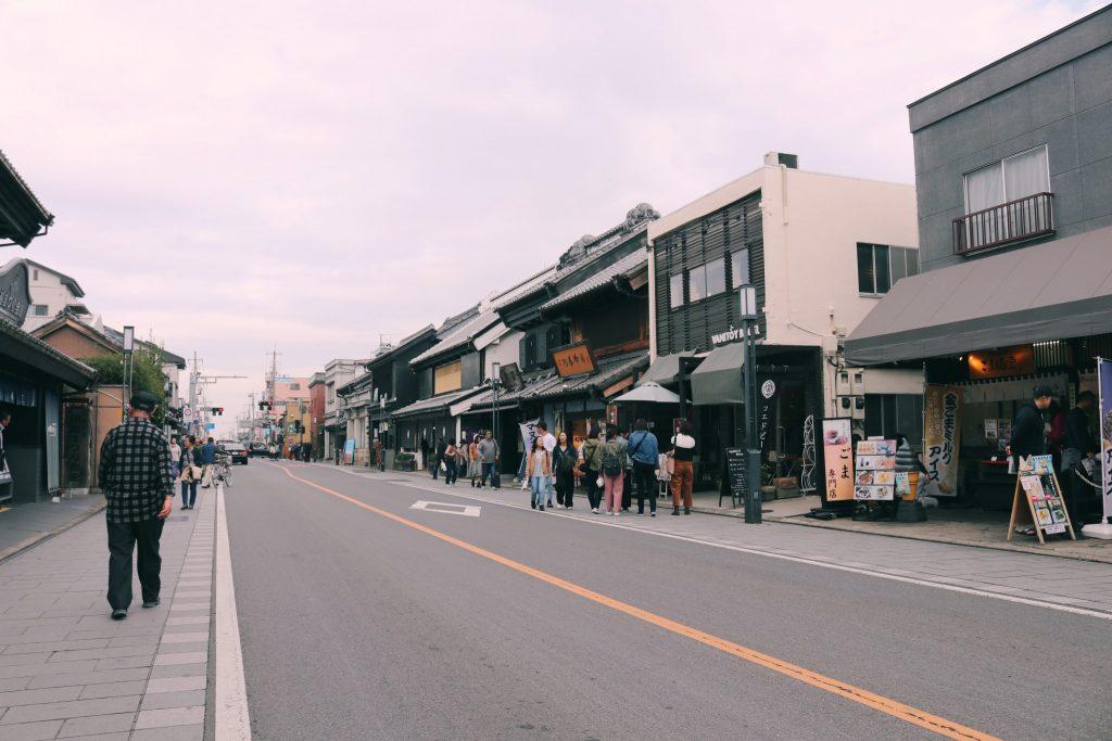 Calle principal de Kawagoe