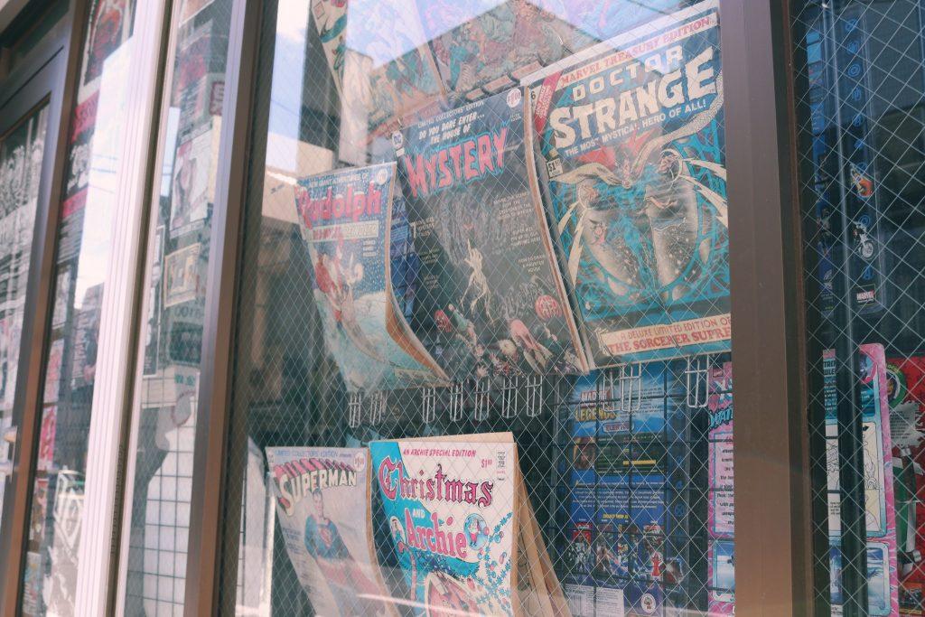 Comic Collector, tienda de comics en Tokio