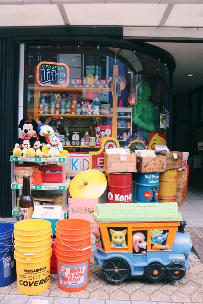 tienda de figuras en Koenji