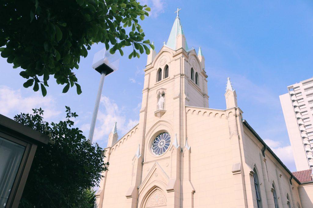 La iglesia de Akabane