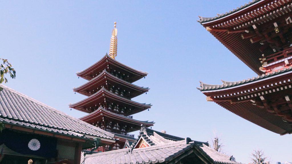 La pagoda del templo Senso Ji