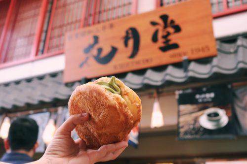 melonpan en Senso-ji, Asakusa, Tokio, Japón