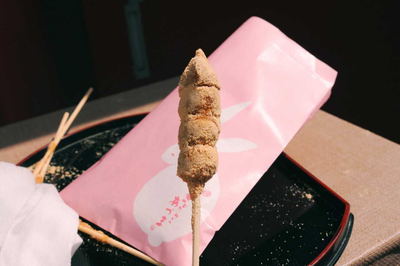 Un kibidango, en Asakusa