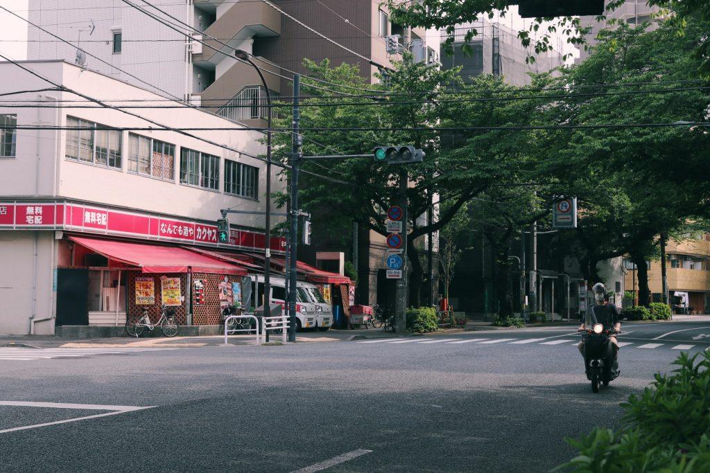 La calle principal del barrio de Nakano