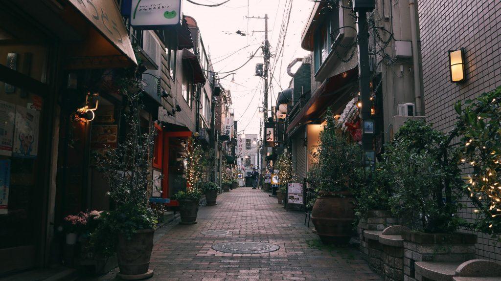 la calle regenzaka de Nakano