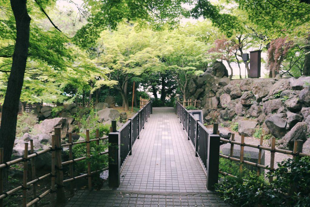 Momijiyama es un precioso lugar para relajarse en Nakano