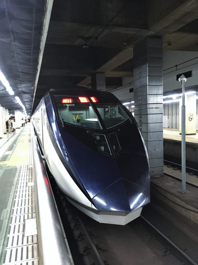 Skyliner en la estación