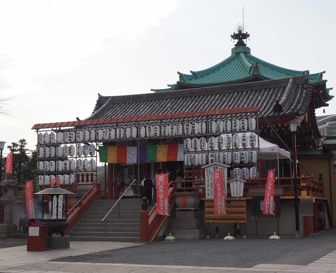 El templo Bentendo en Ueno, Tokio, Japón