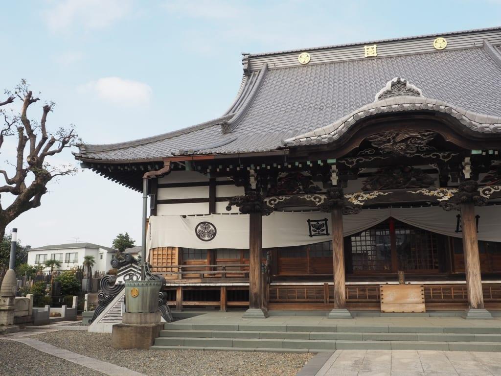 El templo Zuirin-ji en Yanesen