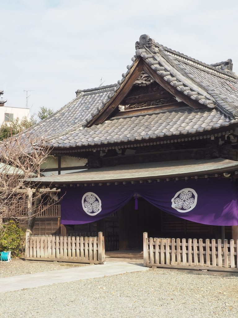 El templo Zuirin-ji en Nippori, Tokio, Japón