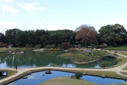 Korakuen, Okayama, Isla de Honshu, Japón