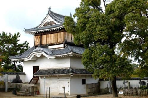 Observatorio del castillo de Okayama, Okayama, Isla de Honshu, Japón
