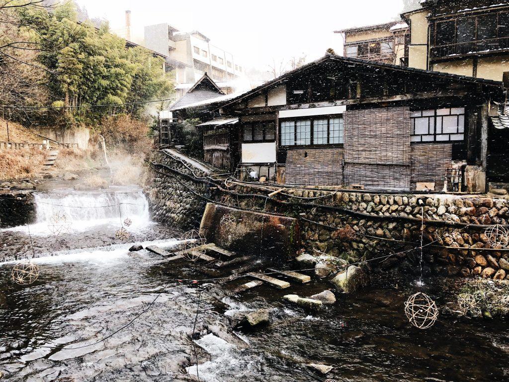 Kurokawa Onsen en Kumamoto, Kyushu, Japón