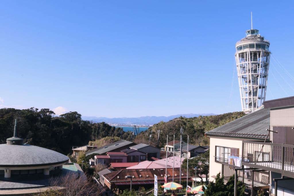 Vistas desde Enoshima, Fujisawa, Kanagawa, Tokio