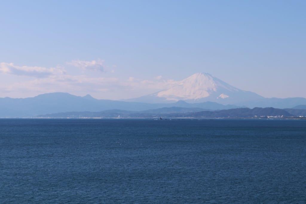 Monte Fuji, Enoshima, Fujisawa, Kanagawa, Japón
