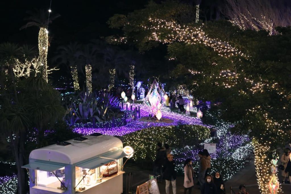 The Jewel of Shonan, Samuel Cocking Garden, Enoshima, Kanagawa, Japón