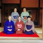 Ceremonia del té japonesa en la tradicional ciudad samurái de Izumi